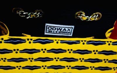 Sac ODWAX pagne jaune